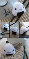 Onigiri Plush v2.0 by Mechashinobi-X