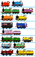 South west Railway Engines v2 by Robbie18