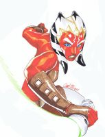 Chamba Ahsoka commission by vic55b