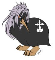 Xemnas the Kiwi by KiraSaintclair