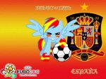 Wallpaper Rainbow Dash Spanish Selection by LightDegel