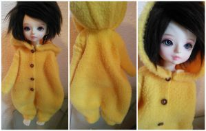 Plain Yellow YoSD Kigurumi by Dolly-Lover