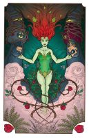 SYMMETRY / Poison Ivy + Batman and Robin - COLOUR by VTomi
