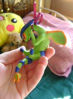 Trade: Sara's Shiny Flygon by FroggyDreams