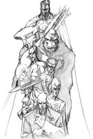 Legion of Doom by AdamWithers