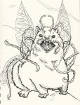 Monster of the Day 17 - Mutant Hyrax by shelldragon
