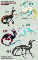 CLOSED//MTT adoptables - round 9 by annicron