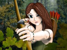 Forest Archer by custom3dgraphics