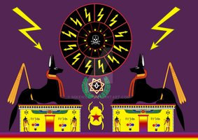 egypt magic sun of Death tribute Aleister Crowley by Mikewildt