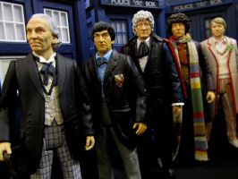 The 11 Doctors: The First 5 By Character Options by Police-Box-Traveler