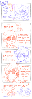 JohnDave - Extra Popsicles by JustMeBeingADork