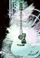 Guitart Made From ASCII Text by samex94