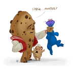 Cookie monster by GuillermoRamirez