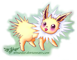 PKM - Jolteon by Wingsie
