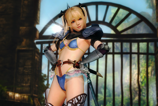 Dead or Alive 5 Last Round - Marie Rose by BLADEWOLF-001