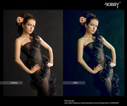 ong dress 5 Retouch by bobbybarredo