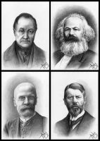 The Founders of Sociology by andrej2249