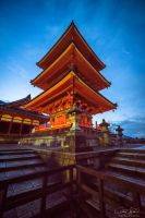 Dawn of the Pagoda by AndrewShoemaker