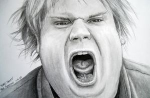 Chris Farley2 by Doctor-Pencil