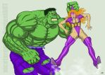 Hulk Vs Titania After Punch by nicetarget