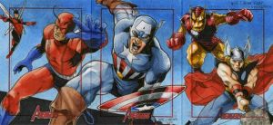 Marvel: 2012 Greatest Heroes Sketch Cards 02 by RichardCox
