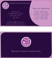 business cards by chantille