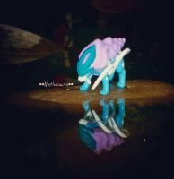 Suicune Guardian of the lake by Aletheiia90