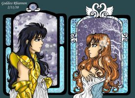 Camus an Crystal Mucha's Style by GoddessRhiannon13