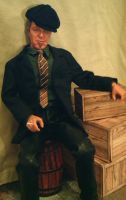Tom Waits Doll by kingsley-wallis