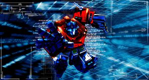 Optimus Prime Transformers by SuiCom