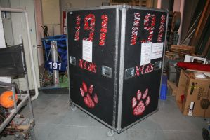 2010 X-Cats Robot Crate Design by EdGPatterson