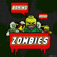 Lego Zombies by babalizius