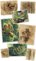 Better Bestiary: Quetzalcoatl by Camelid