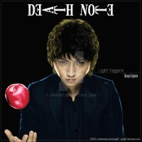 Death Note Light Yagami by jmag87