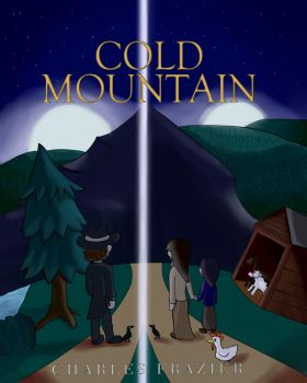 Cold Mountain Book Cover 4 School by CardboardDreamCube