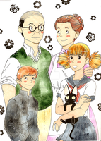 The Mezga Family by MademoiselleMushroom