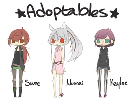Adoptables [CLOSED] by Reitrou