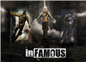 InFAMOUS by ghostflame71
