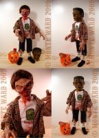 Trick r' Treat Zombie Fig 2 by dreggs88