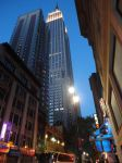 Empire State Building Lit by SkinnyGonzales