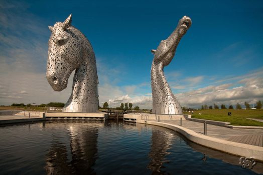 The Kelpies by SnapperRod