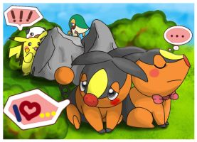 Tepig love by ctpro
