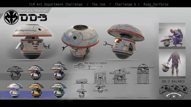 ILM Art Dept. Challenge - DD-3 design by Dedyone