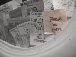 Please be Happy by NoNutritionalValue