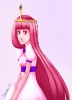 Princess Bubblegum by Ouwah