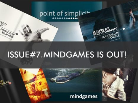 ISSUE No7 MINDGAMES is OUT by teyasaveleva