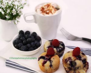 Blueberry Muffin by theresahelmer