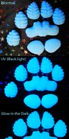 Silicone Dragon Paw Pads by DrakonicKnight