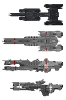 Frigate/Destroyer comparison by SplinteredMatt