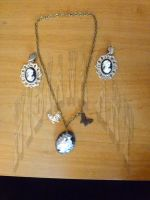 Cameo Necklace and Earring Set 1 by AxelOfArt
